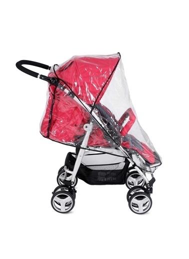 BabyJem Babyjem Yeni Bebek Arabası Yağmurluğu Fitalatsız Siyah